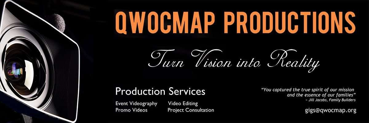 QWOCMAP Productions - Turn Vision Into Reality